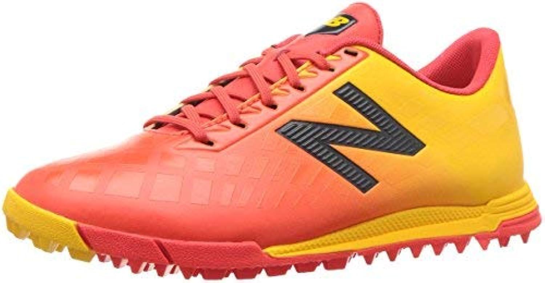 New Balance Boys' Furon V4 Soccer Shoe Flame 4 M US Big Kid [並行輸入品]