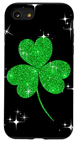 iPhone SE (2020) / 7 / 8 Cute Clover Green Day Irish Accessoires St. Patrick's Day Case