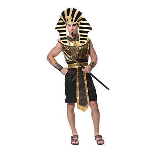 SEA HARE Traje de Faraón Egipcio de los Hombres (Juguete)