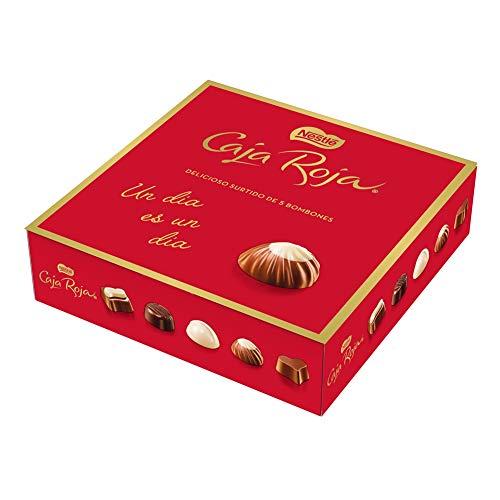 Nestlé Caja Roja bombones de chocolate - Pack de 6 x 45g