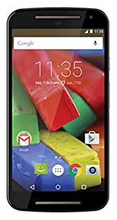 "Motorola Moto G (2nda Generación) - Smartphone libre Android (pantalla 5"", cámara 8 Mp, 8 GB, Quad-Core 1.2 GHz, 1 GB RAM), blanco (B00N7P2VS4) 