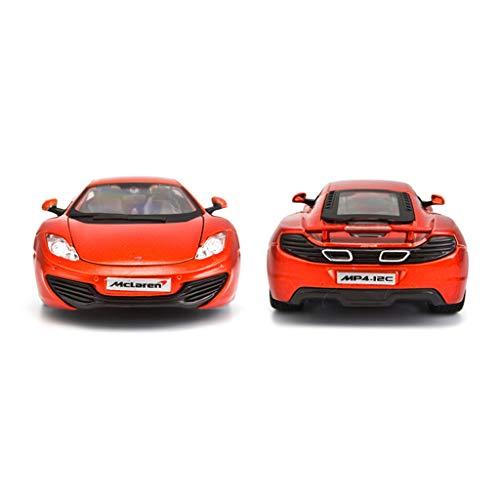 DNSJB 1:24 Fundido a Troquel McLaren MP4-12C Modelo de aleación de ...
