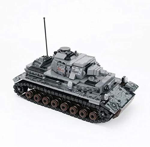 General Jim's Military Building Blocks Toy Bricks Set - WW2 German Panzer IV Building Blocks Model Tank Building Toy Kit