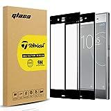 Topnow [2 Packs] Sony Xperia XZ Premium Schutzfolie,Ultra-klar Bildschirmschutzfolie,9H Festigkeit Gehärtetes panzerglas,Keine Blasen Screen Protector for Sony Xperia XZ Premium - Schwarz Black