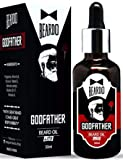 Beardo Godfather Lite Beard and Moustache Oil, 30 ml   Non-Sticky, Light Beard Oil for Men  Pleasant Fragrance   Ideal for daily use   Nourishes and Strengthens Beard   Provides Shine to Beard   Prevents dry and flaky beard