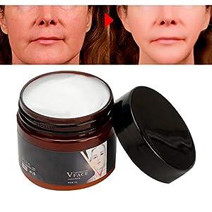 Crema Facial,Reafirmante,Nutre y Repara Mejor Crema Hidratante para Piel Seca,Arrugas & Manchas la Piel Crema Antiarrugas Facial para día y Noche