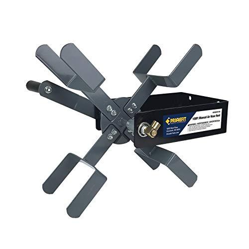 Primefit HRM38100 Manual Air Hose Reel with 100ft Capacity using 3/8' ID Air Hose