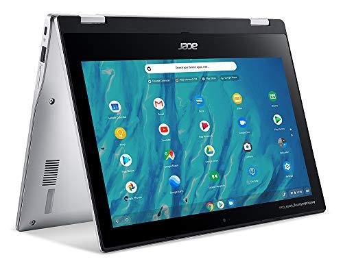Acer Chromebook, Touchscreen, Spin 311 CP311-3H-K0KH Notebook con Processore MTK MT8183 con Octa-core CPU, Ram 4 GB, 64 GB eMMC, Display 11.6