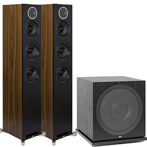 Learn More About ELAC Debut Reference DFR52 Floorstanding Speakers - Pair - Black 2.1 Channel Home T...