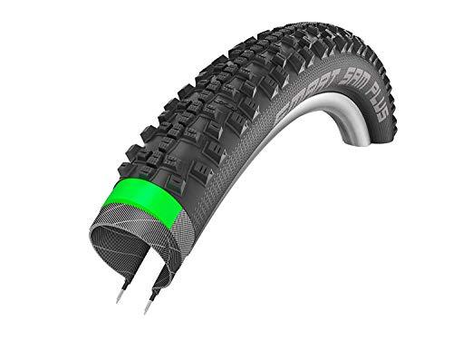 Schwalbe Unisex– Erwachsene Fahrradreife, Schwarz, SMART SAM Plus Perf, GreenGuard, Snakeskin 54-559-SnakeSkin