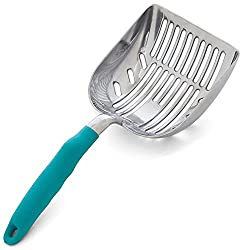 best cat litter scooper metal