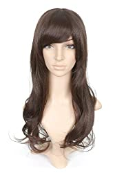 Brown Long Costume Wig