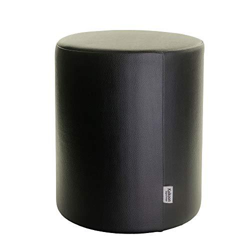 Tabouret noir Ø 34 x 44 cm