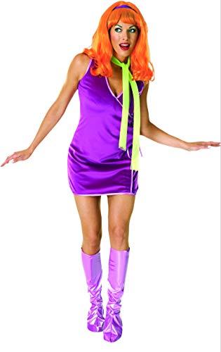 Rubie's Scooby DOO TM Daphne TM Erwachsenenkostüm Einheitsgröße bis Kleidergröße 35,6 cm