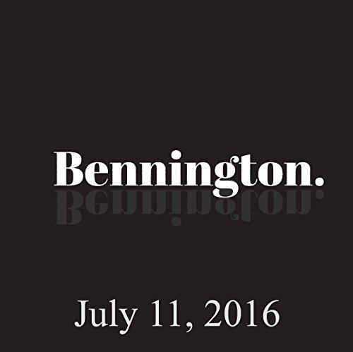 Bennington, Paul Morrissey, July 11, 2016 cover art
