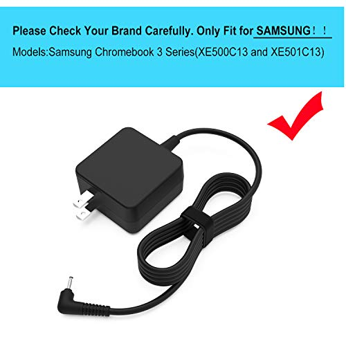 UL Listed 7.5Ft Chromebook Charger Fit for Samsung 11.6