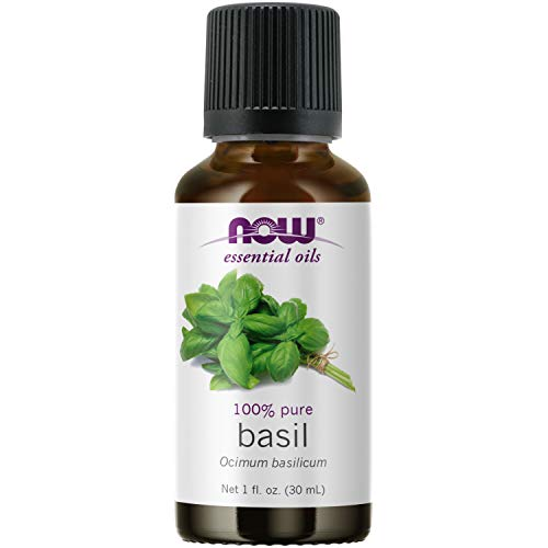 NOW Essential Oils, Basil Oil, Ener…