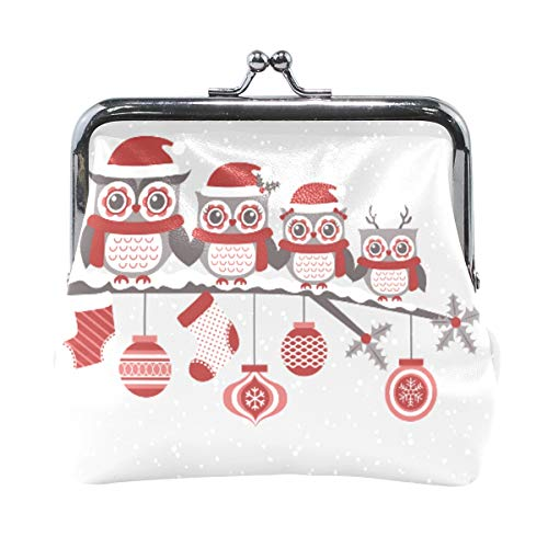 FAJRO - Monedero con diseño de búho navideño