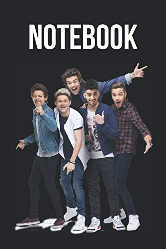 Notebook: One Direction Lined Notebook / Journal / Diary, Great Gift idea for One Direction Fans, Family, Freinds and For special holidays ( ... Father Day, Mother Day and Birthdays)