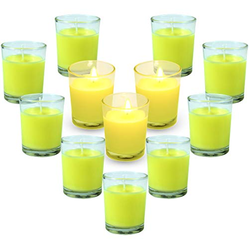 Citronella Candles, Set of 12