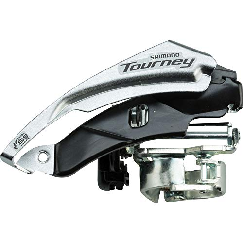 SHIMANO Tourney Mountain Bicycle Front Derailleur - FD-TY500-TS6 (48T,CL:47.5/50MM)