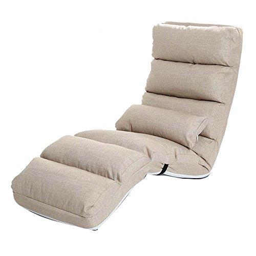 YSDHE Silla Plegable de Oficina Lazy Couch Single Sofa Bed Silla Plegable Bedroom Chair (Color : A)