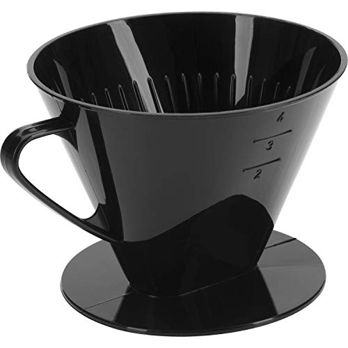 Westmark Filtro De Café/Soporte De Filtro, Tamaño De Filtro 4, Para Hasta 4 Tazas De Café, Four, 24442261