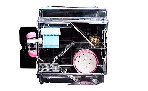 CSWO Cage Hamster Hamster Dormir, Exercice, Jouet Dreamy Big Castle surdimensionné Souris