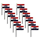 Missouri Flag 4 x 6 inch (12 PK)