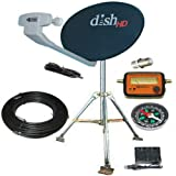 Dish Network HD Hybrid 1000.2 RV Satellite Kit Portable