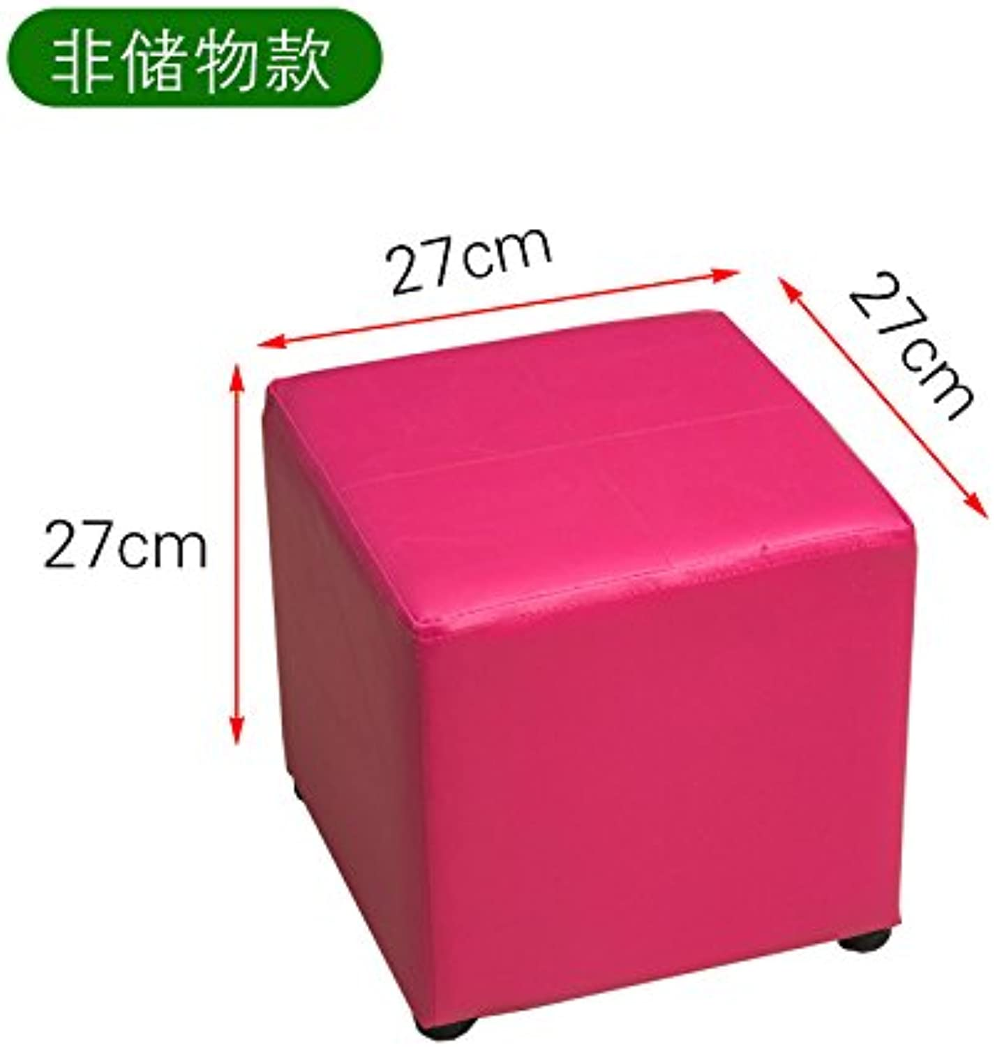 Dana Carrie Wear shoes bench shoe storage cabinet is the shoe that make up the implementation of the admission box sofa chair leather chairs to sit mounds of solid wood, not storage 155 red 272727CM