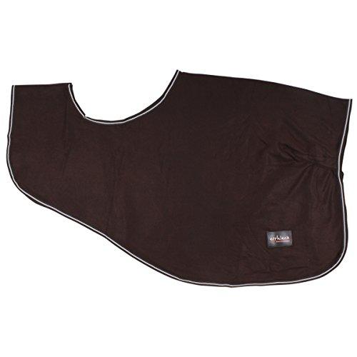 Epplejeck Ausreitdecke New York- Dark Brown-185 cm