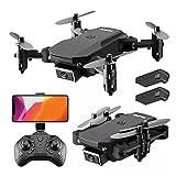 MAFANG® Drone con Cámara 4K HD, Drone FPV Plegable Drone Profesional Posicionamiento De Flujo Óptico, 2 Baterías, Control Remoto WiFi, Un Botón De Despegue Aterrizaje, Modo Sin Cabeza 3D Flip