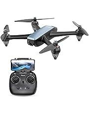 Potensic ドローン GPS搭載 高耐久ブラシレスモーター 光流定位 1080P HDカメラ付き 無線WIFIリアタイム 高度・座標ホバリング 単軸ジャイロ フォローミー・オートリターン機能 操作距離500M 生中継距離400M 指定線路飛行可能 国内認証済み D60