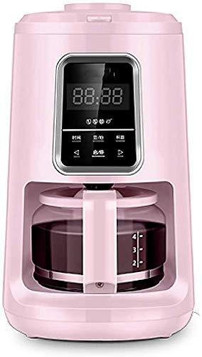 Dsnmm Amerikaanse koffiemachine bonen naar kopje koffiezetapparaat volledige automatische slijpen koffiemachine kantoor huis kleine koffiemachine - wit