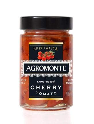 NT# Agromonte Semi Dried Cherry Tomatoes 200G Perfect as a starter to garnishelegant dishes asan essential