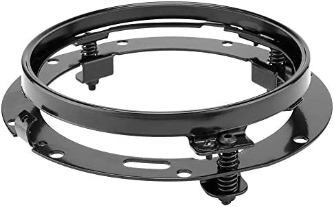 7 inch Round Headlight Ring Mounting Bracket Compatible with Harley Davidson Road King Motorcycle product image