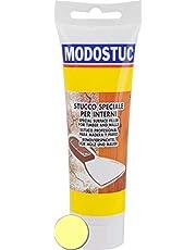 MODOSTUC Professionele stopverf voor hout en muren, snel drogen en perfecte hechting, ivoor, 250 gram