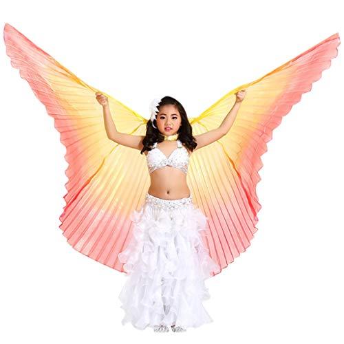 cinnamou001 Kinder Bauchtanz Flügel Bauchtanz Isis Wing für Frauen Bauchtanz Kostüm Engelsflügel