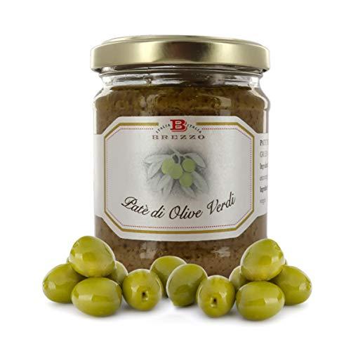 Paté di Olive Verdi, 180 Grammi (Confezione da 2 Pezzi)
