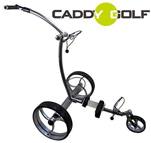 caddy-golf Edelstahl glänzend Pentera Elektro Golf Trolley Lithium 1,4kg 1500 Lad.