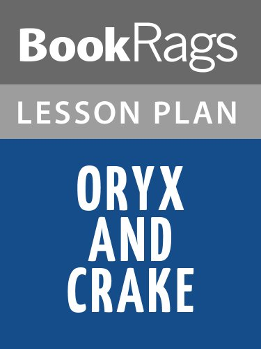Lesson Plans Oryx and Crake (English Edition)