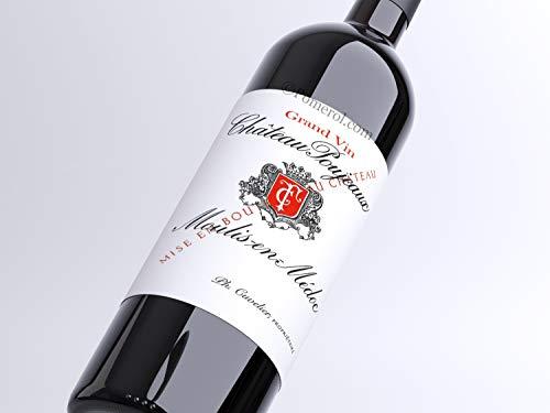 X6 Château Poujeaux 2014 37,5 cl AOC Moulis Rouge Rotwein