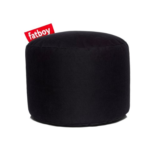 Fatboy Hocker Point Stonewashed Schwarz