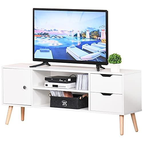HOMCOM Modern TV Stand for TVs u...