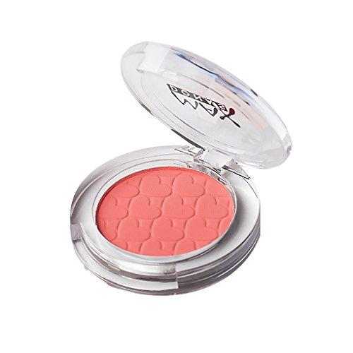 Babysbreath17 Mujeres Niñas Rubor Polvo Fino Colorete Maquillaje mejilla Cara Pigmento Pómulos Contorno Sombras Paleta Rojo ladrillo