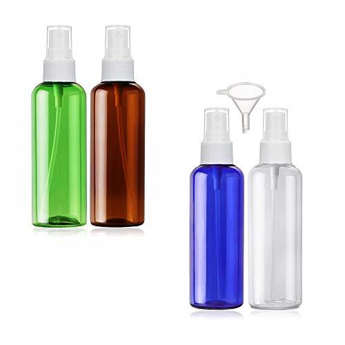 4 Pièces Bouteille Portable Réutilisables Flacon Vaporisateur Vide Pulvérisateur Parfum