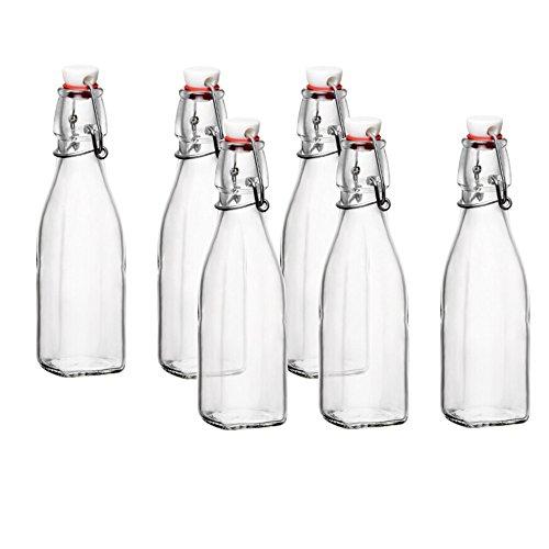 Glass Swing Top Bottle