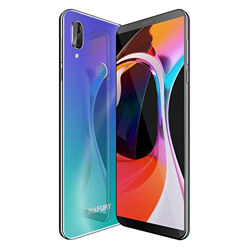 HAFURY NOTE 10 4G Android 9 Sim Free Unlocked Smartphone, 5.93 inch FHD+ Display with 4000mAh Battery, 4GB RAM+32GB ROM, 128GB Extension, Dual Sim Dual Camera Mobile phone (Gradient)