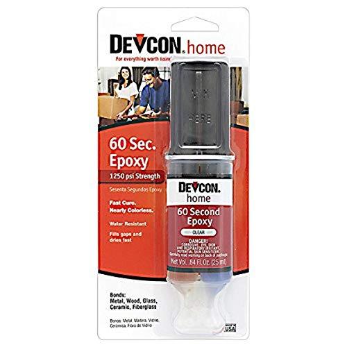 Devcon Epoxidkleber 60 sekunden | Transparent | 25ML | Epoxid-Klebstoff